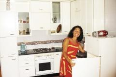 Keuken in appartement Granada