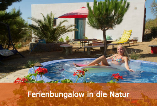 ferienbungalow in die natur