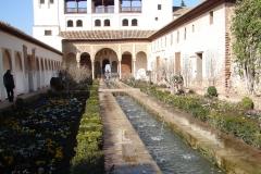 tuinen bij het Alhambra